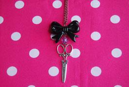 Collar Scissors & Bow