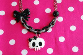 Collar Skull Chunky Chain