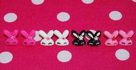 Pendientes Conejito - Bunny Studs