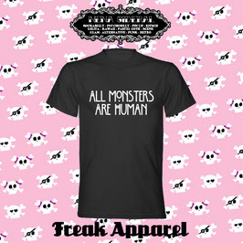 Camiseta All Monsters are Human