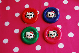 Broche Calavera Hello Kitty