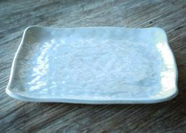 SQUARE HAMMERD DINNER PLATE CM. 29 X 29