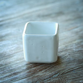 SMALL SAUCE DEEP SQUARE BOWL CM. 6 X 6