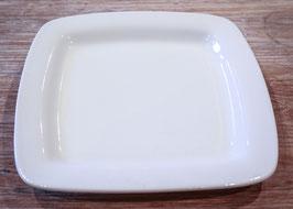 SQUARE RIM DINNER PLATE CM. 28