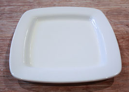 SQUARE RIM CHARGER PLATE CM. 32