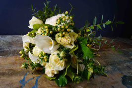 Bouquet sui toni del bianco
