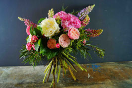 Bouquet sui toni del rosa