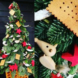Albero di Natale in abete vero