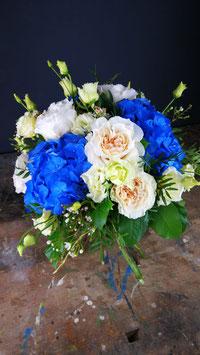 Bouquet sui toni del blu
