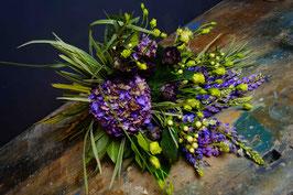 Bouquet  sui toni del viola