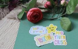 MIDYOUTH CRISIS Sticker Set
