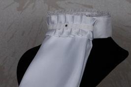 White Chrystal Plastron
