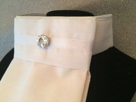 White Diamond Plastron