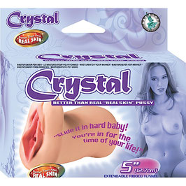 "Crystal Better Than Real ""Real Skin"" Pussy"