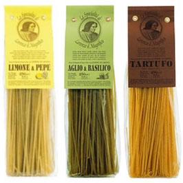 Pasta Trilogie Lorenzo il Magnifico 3x250 g, Italien