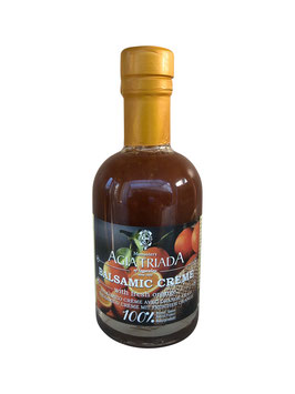 Balsamico Creme mit frischen BIO Orangen 200ml Flasche - Kloster Agia Triada Kreta