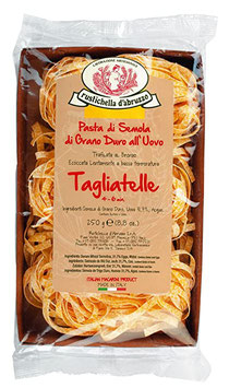 Tagliatelle all`uovo 250g Rustichella, Italien