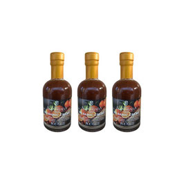 Sparset 3 x 200ml Balsamico Creme mit frischen BIO Orangen Kloster Agia Triada-Kreta