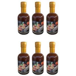 Sparset 6 x 200ml Balsamico Creme mit frischen Orangen Kloster Agia Triada Kreta