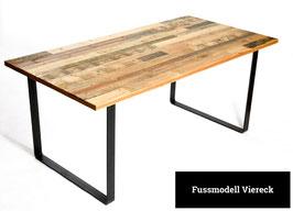 Esstisch - Tischfuß Viereck