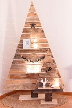 DIY Tannenbaum - mehrjähriger Tannenbaum aus Holz