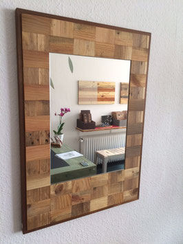 Upcycling Spiegel - Quadrate