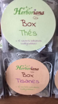 Herboriana Box thés