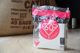 Hario Filterpapier für Kaffeefilter V60-02