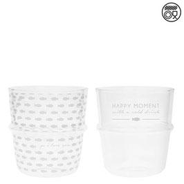 Wasserglas weiss