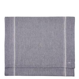 Tischläufer grau mit Streifen