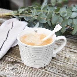 Cappuccino Tasse Love Today