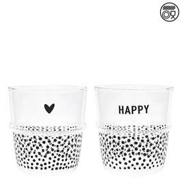 Wasserglas schwarz