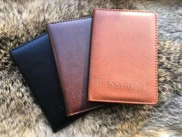Luxe paspoorthouder - paspoorthoes in 3 kleuren