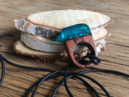 Resin wooden ring