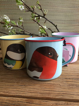 Bullfinch Enamel Mug