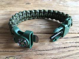 Survival Bracelet | Paracord Armband | Survival armband | met Kompas