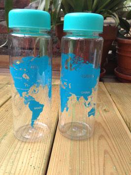Drinkbeker wereldkaart