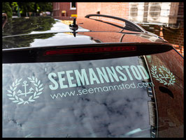 """Auto-Scheibenaufkleber """"Seemannstod"""""""