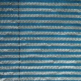 Fiberfil Schattiergewebe blau-aluminium, Breite 3,50 m / 4,50 m (Meterware)