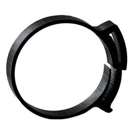 Schlauchschelle, Rohrschelle 60-65 mm, 13 mm Breit, Kunststoff 5er Pack