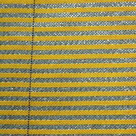 Fiberfil Schattiergewebe gelb-aluminium, Breite 3,50 m