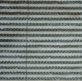 Fiberfil Schattiergewebe grau-aluminium, Breite 3,50 m