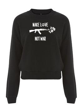 Make Love - Crop Sweater