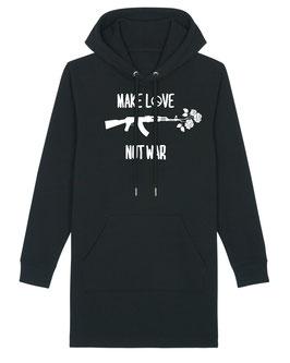 Make Love - Hoodie Kleid
