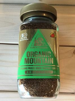 オーガニックマウンテン有機インスタントコーヒー(ビン)100g