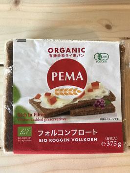 PEMA有機全粒ライ麦パン(フォルコンブロート)375g(6枚入)