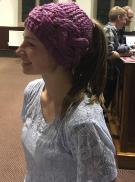 Messy Bun Hats - (a hole for your hair)