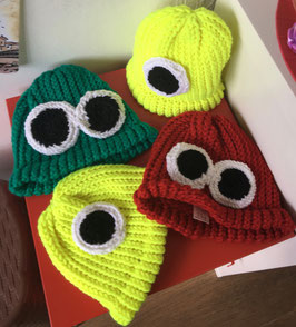 Kids EYE Color Hats, Mittens & Scarves