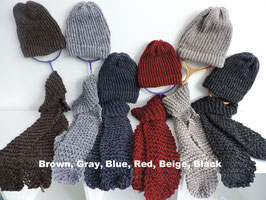 Matching Products: Hats, Scarves, Mittens, Hoodies and Boot Cuffs - Youth & Adults