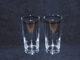 geätztes Wasserglas